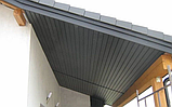 Соффит виниловый VOX  (графит) 0,3*3м, фото 5