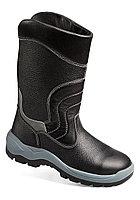 Защитные утепленные сапоги из кожи с металлическим носком