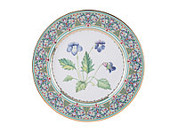 Декоративная тарелка Фиалка. Императорский фарфор