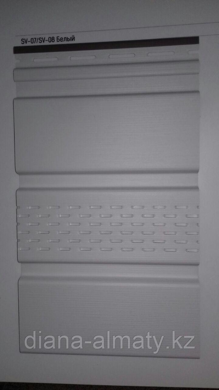 Соффит виниловый VOX  (белый) 0,3*3м