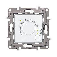 Legrand Etika Термостат для теплых полов +7…+40°С (16 А, 230 В, выносной термодатчик, под рамку, скрыта