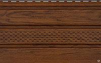 Соффит виниловый VOX Орех 0,3*3м (подшивка карниза)