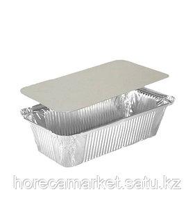 Крышка картонно-алюминиевая для контейнера 120X93мм (402-770 отпускается по 100шт)