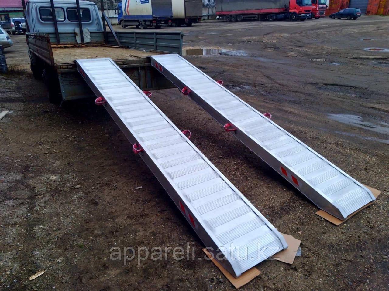 Погрузочные рампы из алюминия (аппарели / трапы) 10 тонн
