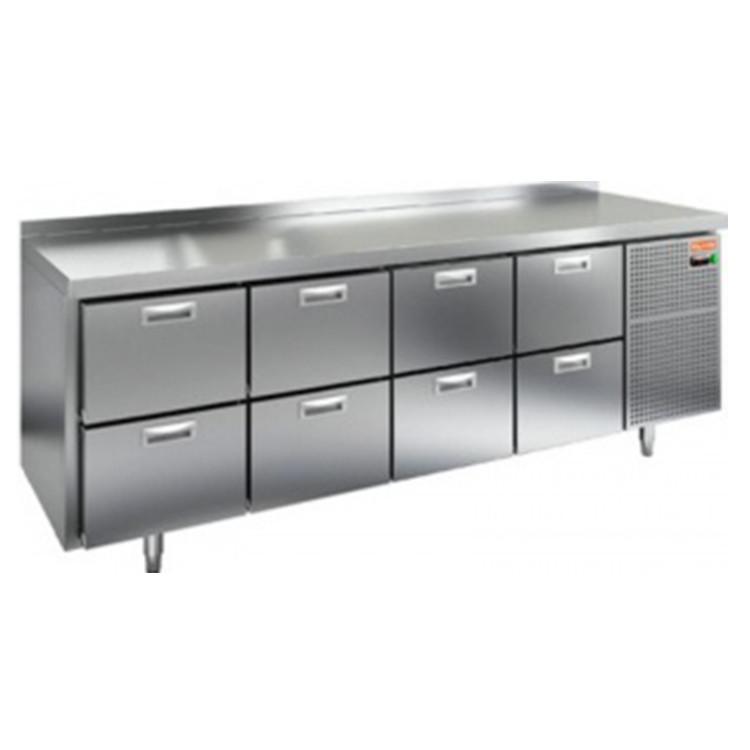 Стол с морозильным шкафом Hicold GN2222/BT