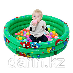 Бассейн детский средний надувной 110x30 см