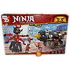 Конструкторы Ninja. 655 деталей.