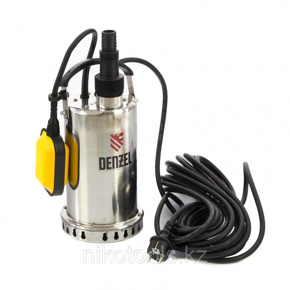 Дренажный насос DP600X, 600 Вт, подъем 7,5 м, 8500 л/ч// Denzel