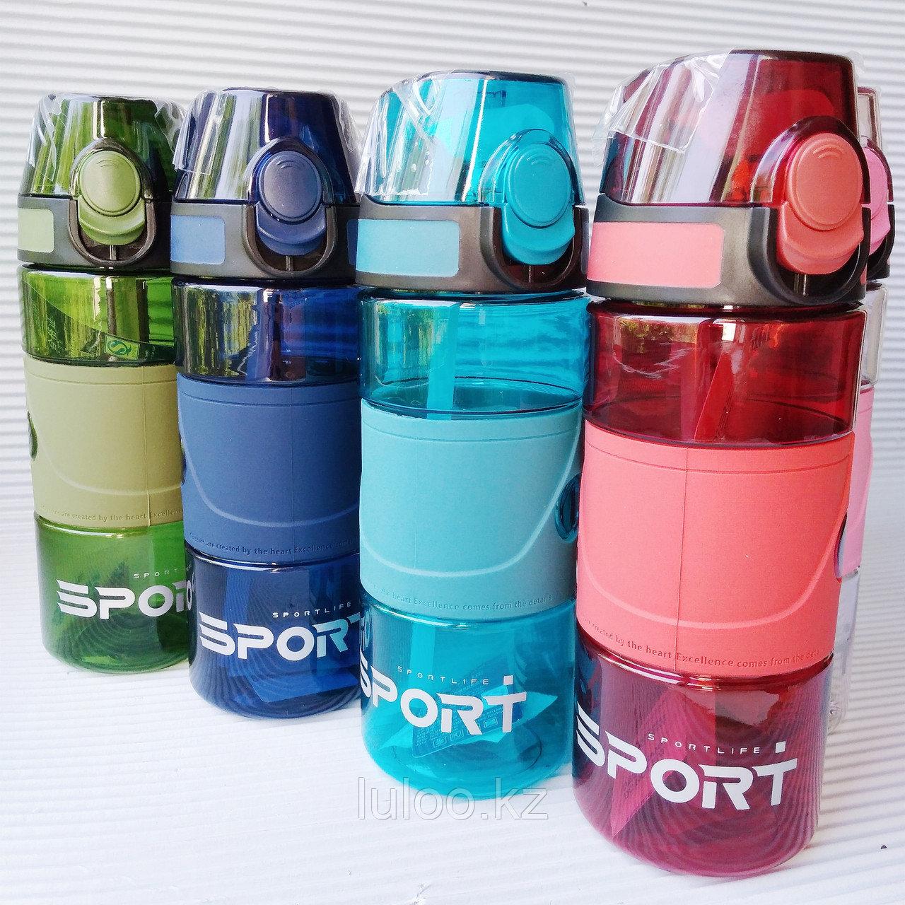 "Спортивная бутылка для воды ""Sport"", 500мл. - фото 6"