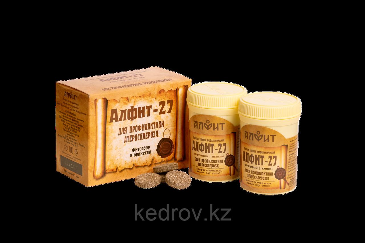 """""""Алфит-27""""  Для профилактики атеросклероза"""