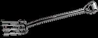 """Вилы садовые """"Артель"""", ЗУБР, серия """"Мастер"""" (39567)"""