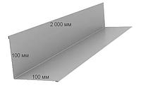 Стеновое примыкание L 2000 мм , Оцинкованное