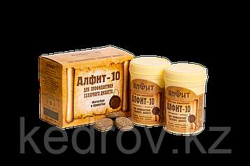 """""""Алфит-10""""  Для профилактики сахарного диабета"""