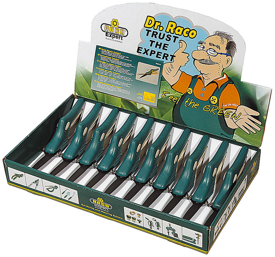 Ножницы для стрижки травы, Raco, 10 шт., 355 мм, 3-позиционные (4202-53/110-H10)