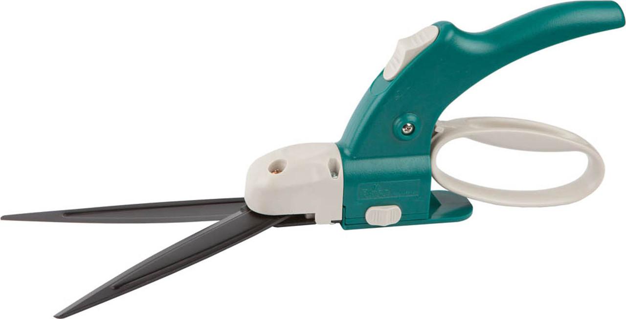 Ножницы для стрижки травыб Raco, 350 мм, регулировка высоты, поворотный механизм 360° (4202-53/113C)