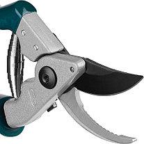 Секатор, Raco, рез до 20 мм, 200 мм, алюминиевые рукоятки, поворотные ручки (4206-53/143S), фото 2