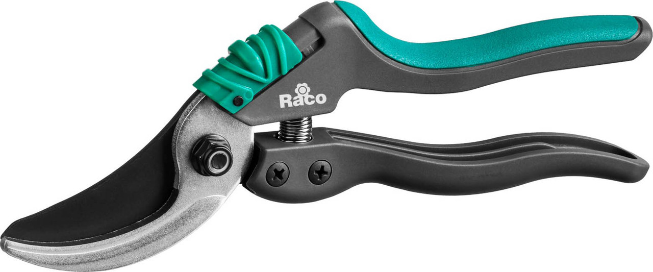 Секатор, Raco, 205 мм, со спец. эргономичными двухкомпонентными рукоятками армиров фиберглассом (4206-53/S161)