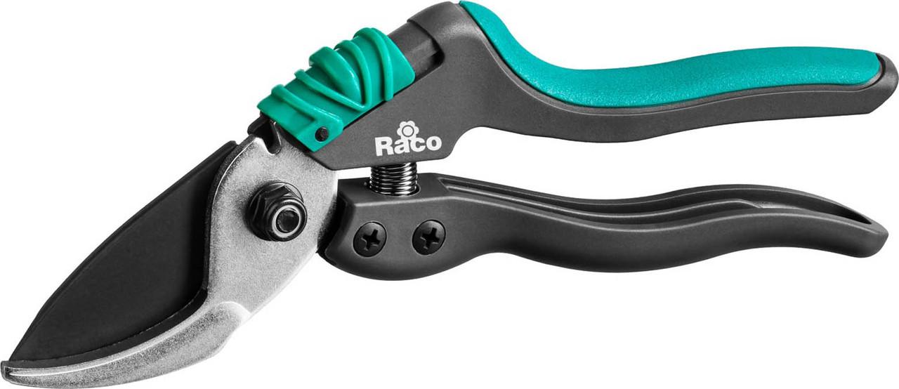 Секатор, Raco, 205 мм, со спец. эргономичными двухкомпонентными рукоятками армиров фиберглассом (4206-53/S162)
