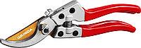 Плоскостной секатор, Grinda, 205 мм, с алюминиевыми рукоятками (423113)