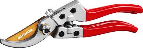 Плоскостной секатор, Grinda, 205 мм, с алюминиевыми рукоятками (423113), фото 2