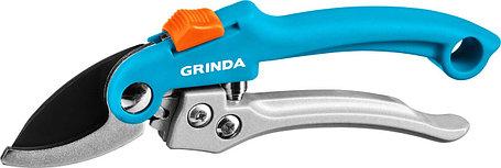 Плоскостной секатор, Grinda, 200 мм, c двухкомпонентными рукоятками (423451), фото 2
