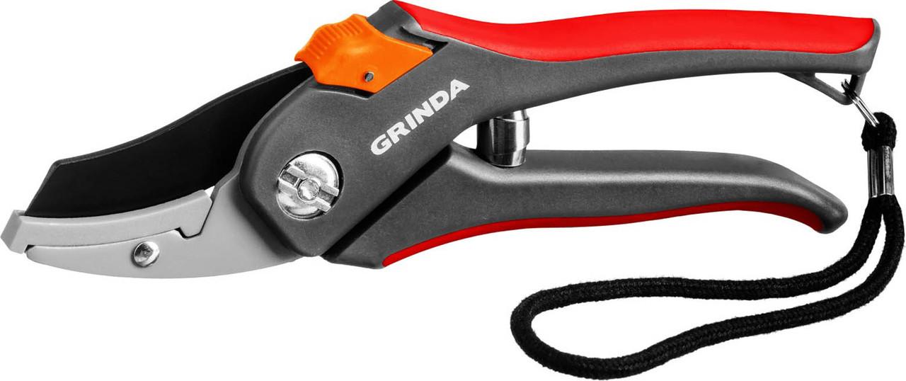 Контактный секатор, Grinda, 205 мм, с двухкомпонентными рукоятками (8-423203_z02)