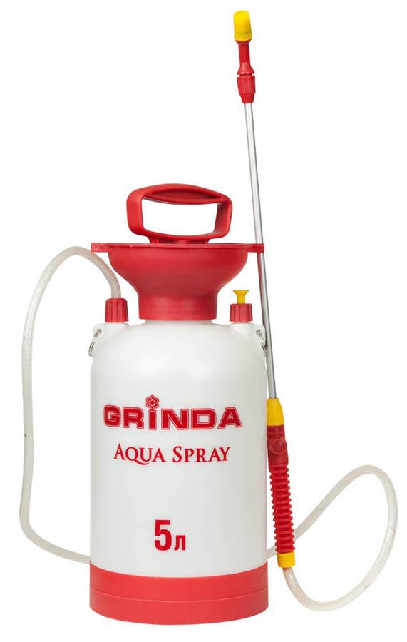 Опрыскиватель садовый Aqua Spray, Grinda, 5 л, алюминиевый удлинитель (8-425115_z01)