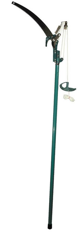 Сучкорез штанговый с пилой, Raco, 350 мм, рез до 32 мм, телескопический (1,5-2,4 м) (4218-53/371)