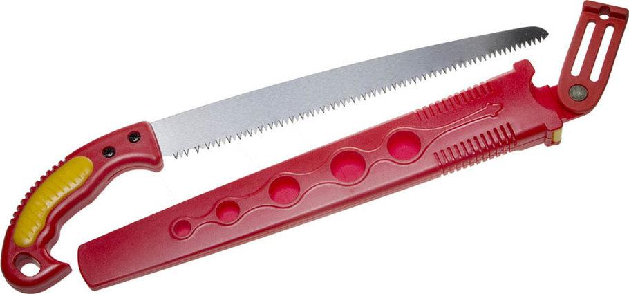 Ножовка садовая с ножнами, Grinda, 300 мм, шаг зуба 4 мм (6 TPI) (8-151853_z01), фото 2