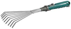 Грабли веерные с плоскими зубцами, Raco, 435 мм, коннекторная система (4205-53522)