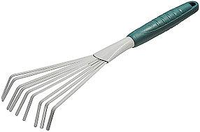 Грабли веерные, Raco, 400 х 175 мм, 9 плоских зубцов (4207-53492)