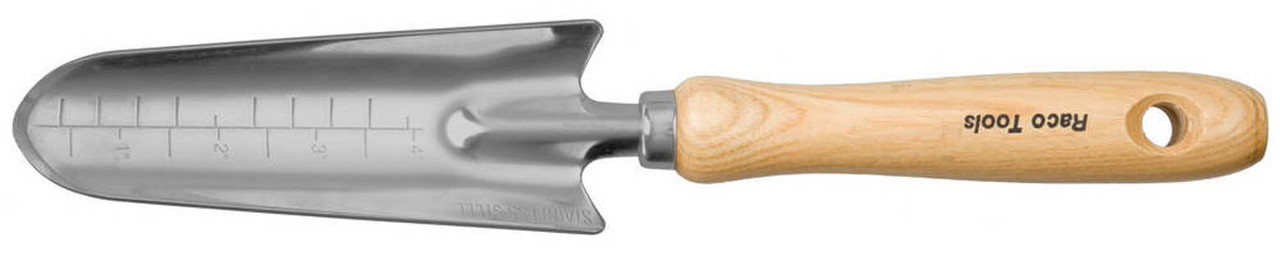 Совок посадочный LUXURY, Raco, 315 мм, дубовая ручка, средний (42075-53552)