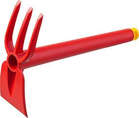 Мотыга-рыхлитель, Grinda, 75 мм, 3 зубца, трапеция (421315)