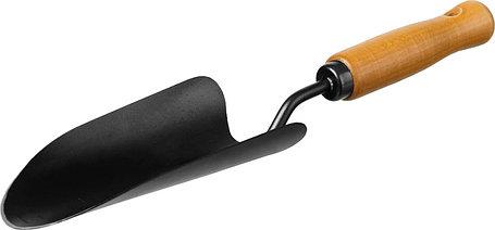 Совок посадочный ProLine, Grinda, 180х90х375 мм, деревянная ручка (421512), фото 2