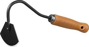 Мотыжка радиусная ProLine, Grinda, 65х115х275 мм, деревянная ручка (421513)