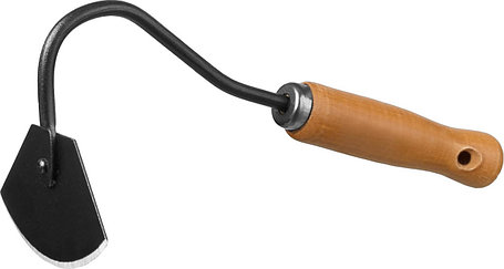 Мотыжка радиусная ProLine, Grinda, 65х115х275 мм, деревянная ручка (421513), фото 2