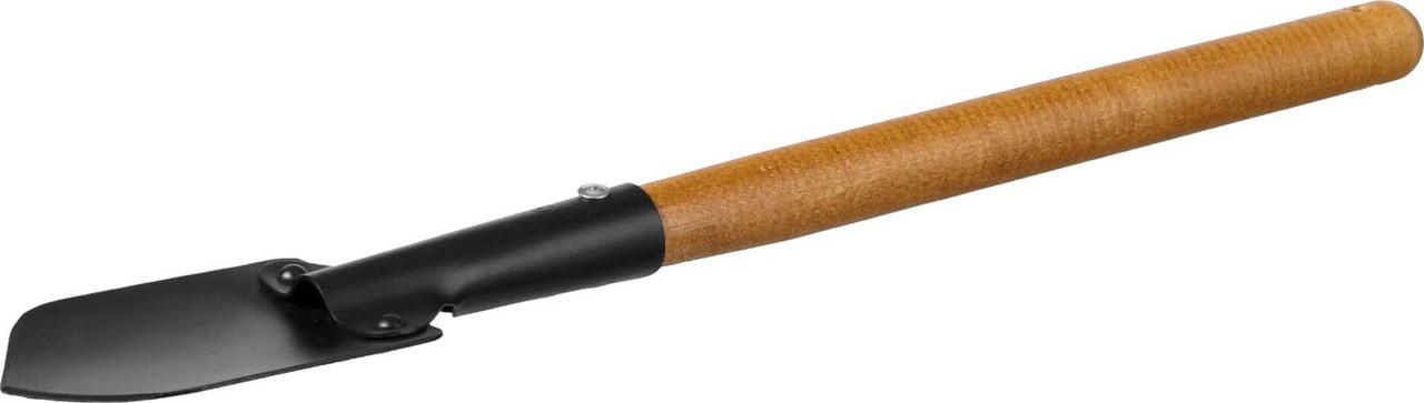 Лопаточка садовая ProLine, Grinda, 125х92х560 мм, деревянная ручка (421516)