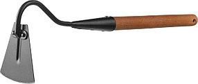 Мотыжка с тулейкой ProLine, Grinda, 113х100х575 мм, деревянная ручка, узкая (421518)