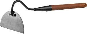 Мотыжка с тулейкой ProLine, Grinda, 90х160х580 мм, деревянная ручка, прямая (421519), фото 2