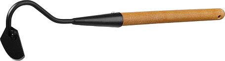 Мотыжка с тулейкой ProLine, Grinda, 65х115х580 мм, деревянная ручка, радиусная (421520), фото 2
