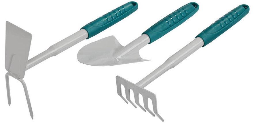 Набор садовый: cовок, грабельки, мотыжка, Raco, 3 предмета (4225-53/475), фото 2