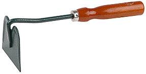 Мотыжка садовая, Grinda, 250 мм, углеродистая сталь, деревянная ручка, прямое лезвие (8-421231_z01)