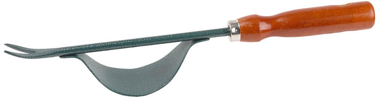 Корнеудалитель стальной, Grinda, 340 мм, углеродистая сталь, деревянная ручка (8-421246_z01)
