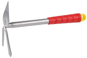 Мотыжка садовая Grinda, 310 мм, 2 зубца, коннекторная система, сердцевидное лезвие (8-421437_z01)