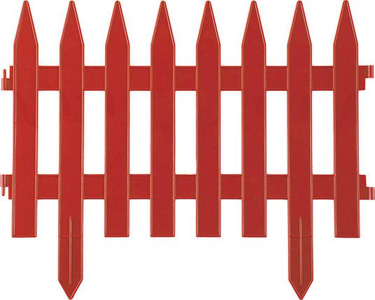 Забор декоративный КЛАССИКА, Grinda, 28х300 см, терракот (422201-T), фото 2