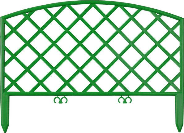 Забор декоративный ПЛЕТЕНЬ, Grinda, 28х320 см, зеленый (422207-G), фото 2