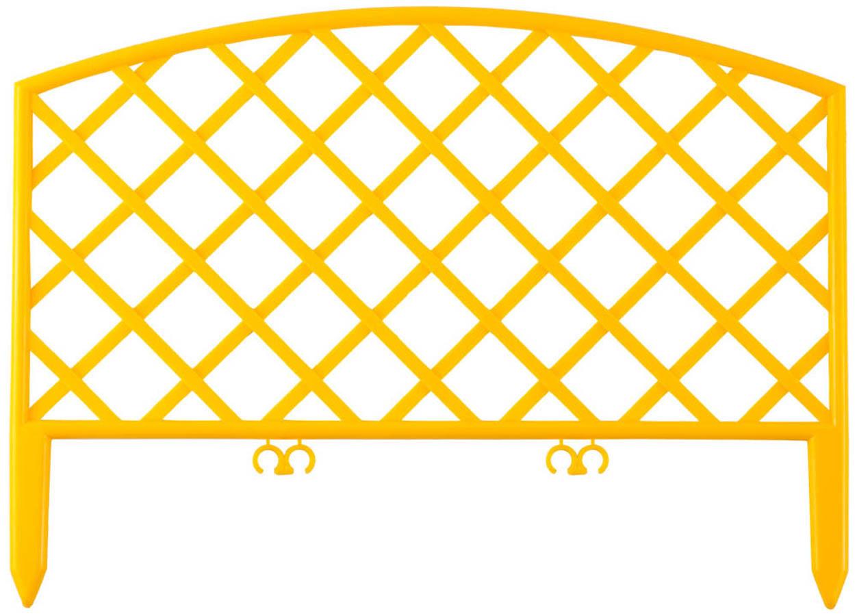 Забор декоративный ПЛЕТЕНЬ, Grinda, 28х320 см, терракот (422207-Y)