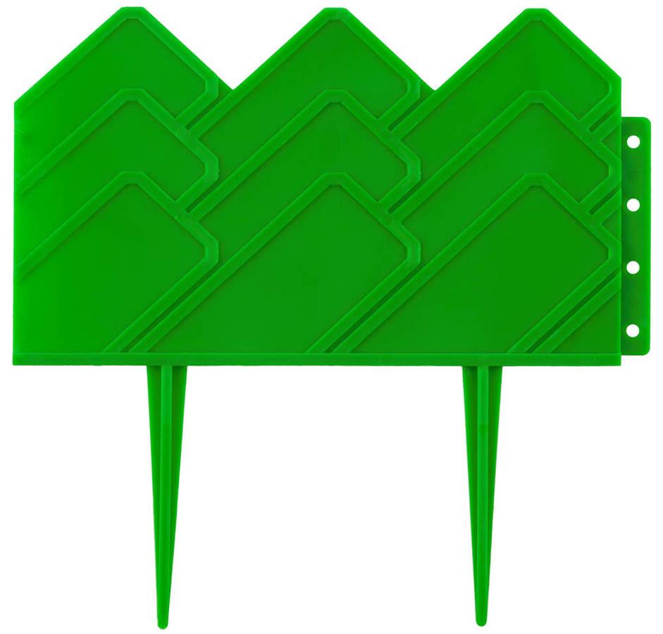 Бордюр декоративный для клумб, Grinda, 4х310 см, зеленый (422221-G)