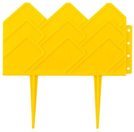 Бордюр декоративный для клумб, Grinda, 14х310 см, желтый (422221-Y), фото 2