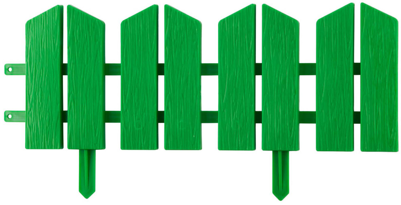 Бордюр декоративный ЛЕТНИЙ САД, Grinda, 16Х300 см, зеленый (422225-G)